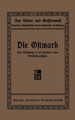 Die Ostmark von Mitscherlich,  Waldemar