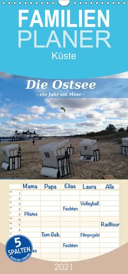 Die Ostsee – Ein Jahr am Meer – Familienplaner hoch (Wandkalender 2021 , 21 cm x 45 cm, hoch) von Wynands,  Alexander