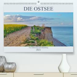 Die Ostsee – von Schleswig nach Glücksburg (Premium, hochwertiger DIN A2 Wandkalender 2021, Kunstdruck in Hochglanz) von Janke,  Andrea