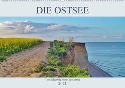 Die Ostsee – von Schleswig nach Glücksburg (Wandkalender 2021 DIN A2 quer) von Janke,  Andrea