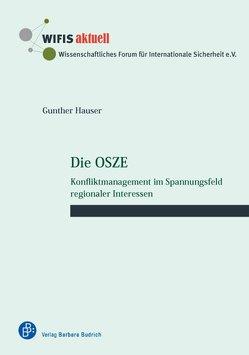 Die OSZE von Hauser,  Gunther