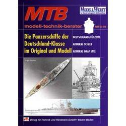 Die Panzerschiffe der Deutschland-Klasse im Original und Modell von Bloss,  Michael, Chesneau,  Roger