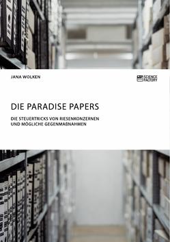 Die Paradise Papers. Die Steuertricks von Riesenkonzernen und mögliche Gegenmaßnahmen von Wolken,  Jana