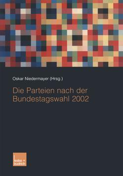 Die Parteien nach der Bundestagswahl 2002 von Niedermayer,  Oskar