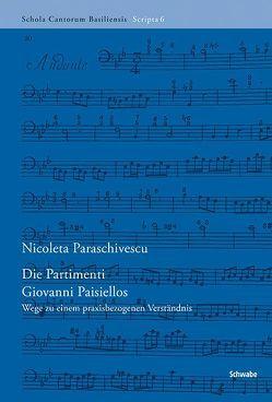 Die Partimenti Giovanni Paisiellos von Paraschivescu,  Nicoleta