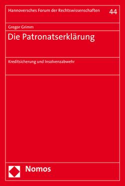 Die Patronatserklärung von Grimm,  Gregor
