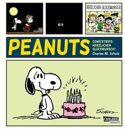 Die Peanuts Tagesstrips: Herzlichen Glückwunsch! von Schulz,  Charles M., Wieland,  Matthias
