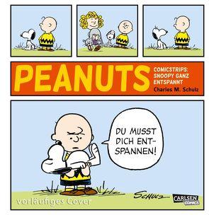 Die Peanuts Tagesstrips: Snoopy – ganz entspannt! von Schulz,  Charles M., Wieland,  Matthias