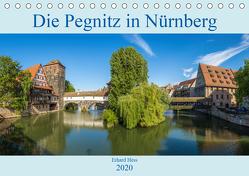 Die Pegnitz in Nürnberg (Tischkalender 2020 DIN A5 quer) von Hess,  Erhard, www.ehess.de