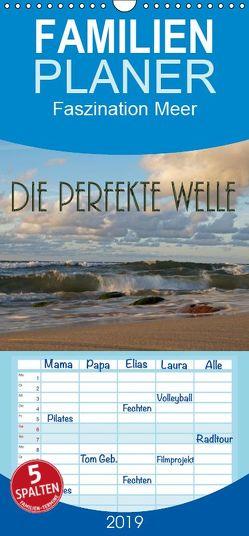 Die perfekte Welle – Familienplaner hoch (Wandkalender 2019 , 21 cm x 45 cm, hoch) von Flori0