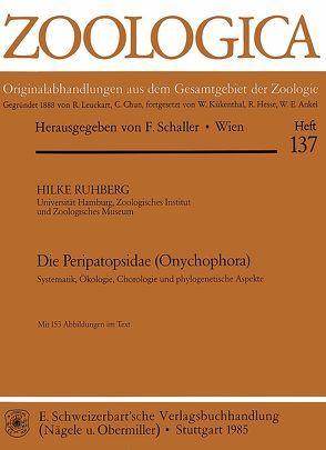 Die Peripatopsidae (Onychophora) von Ruhberg,  Hilke