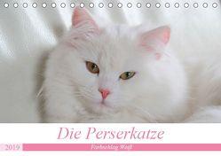 Die Perserkatze – Farbschlag Weiß (Tischkalender 2019 DIN A5 quer) von Klatt,  Arno