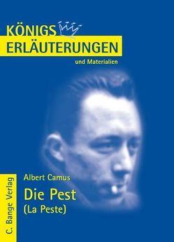 Die Pest – La Peste von Albert Camus. Textanalyse und Interpretation. von Camus,  Albert, Frausing Vosshage,  Frauke