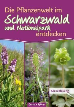 Die Pflanzenwelt im Schwarzwald und Nationalpark entdecken von Blessing,  Karin