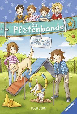 Die Pfotenbande, Band 5: Socke in der Hundeschule von Luhn,  Usch, Sieverding,  Carola