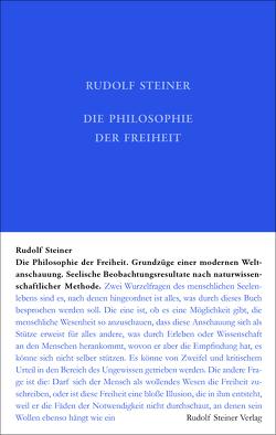 Die Philosophie der Freiheit von Steiner,  Rudolf