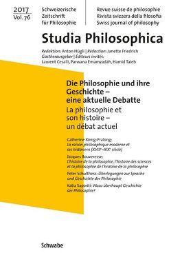 Die Philosophie und ihre Geschichte – eine aktuelle Debatte La philosophie et son histoire – un débat actuel von Cesalli,  Laurent