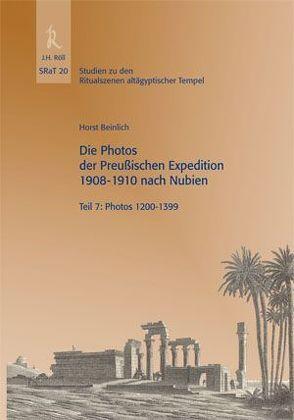 Die Photos der Preußischen Expedition 1908-1910 nach Nubien von Beinlich,  Horst, Hallof,  Jochen