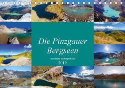 Die Pinzgauer Bergseen im schönen Salzburger Land (Tischkalender 2019 DIN A5 quer) von Kramer,  Christa