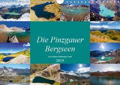 Die Pinzgauer Bergseen im schönen Salzburger Land (Wandkalender 2019 DIN A4 quer) von Kramer,  Christa