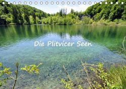 Die Plitvicer Seen (Tischkalender 2019 DIN A5 quer) von GUGIGEI