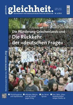 """Die Plünderung Griechenlands und die Rückkehr der """"deutschen Frage"""" von Schwarz,  Peter"""