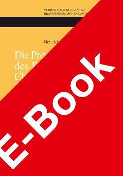Die Prenzlauer Chronik des Pfarrers Christoph Süring 1105–1670 von Kaak,  Heinrich