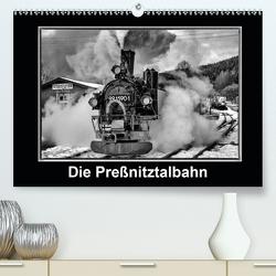 Die Preßnitztalbahn (Premium, hochwertiger DIN A2 Wandkalender 2020, Kunstdruck in Hochglanz) von Maurer,  Marion