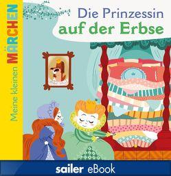 Die Prinzessin auf der Erbse von Andersen,  Hans Christian, Cathala,  Agnès, Falorsi,  Ilaria, Krömer,  Stefanie
