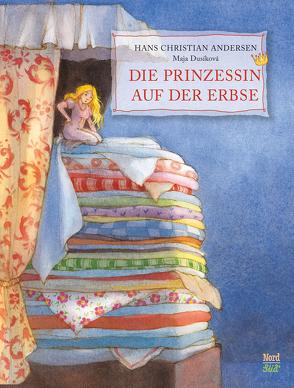 Die Prinzessin auf der Erbse von Andersen,  Hans H., Dusikova,  Maja