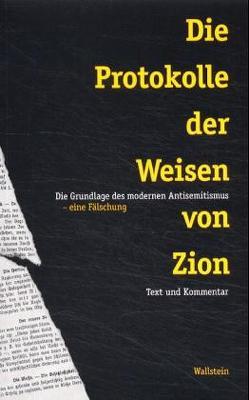 Die Protokolle der Weisen von Zion von Sammons,  Jeffrey L.