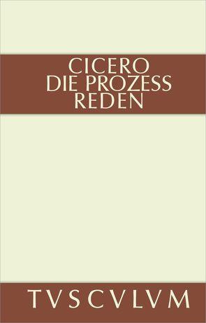 Die Prozessreden von Cicero, Fuhrmann,  Manfred