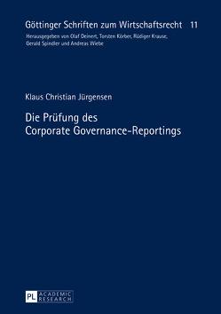 Die Prüfung des Corporate Governance-Reportings von Jürgensen,  Klaus Christian