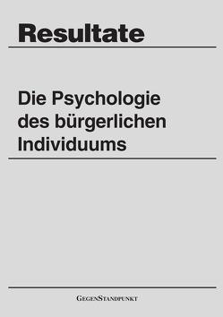 Die Psychologie des bürgerlichen Individuums von Held,  Karl