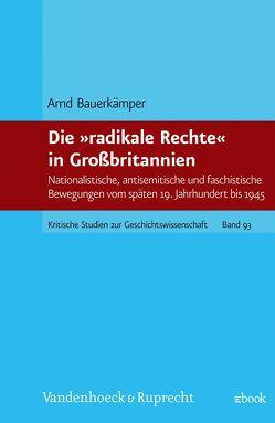Die 'radikale Rechte' in Großbritannien von Bauerkämper,  Arnd