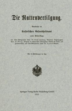 Die Rattenvertilgung von Nocht,  Albrecht Eduard Bernhard