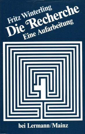Die Recherche von Winterling,  Fritz