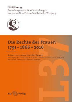 Die Rechte der Frauen 1791–1866–2016 von Berndt,  Sandra, Kämmerer,  Gerlinde