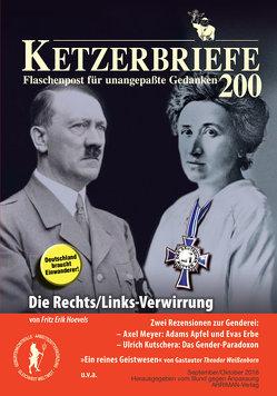 Die Rechts/Links-Verwirrung von Hoevels,  Fritz Erik, Weissenborn,  Theodor