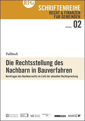 Die Rechtsstellung des Nachbarn in Bauverfahren von Pallitsch,  Wolfgang