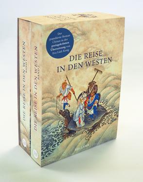 Die Reise in den Westen. Ein klassischer chinesischer Roman von Lüdi Kong,  Eva