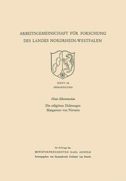 Die religiösen Dichtungen Margaretes von Navarra von Sckommodau,  Hans