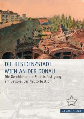 Die Residenzstadt Wien an der Donau von Mader,  Ingrid