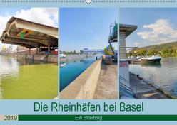 Die Rheinhäfen bei Basel – Ein Streifzug (Wandkalender 2019 DIN A2 quer) von Fischer,  Dieter