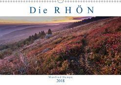 Die Rhön (Wandkalender 2018 DIN A3 quer) von Hempe,  Manfred