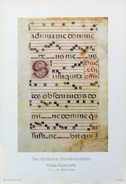 Die römische Choralnotation von Anonymus