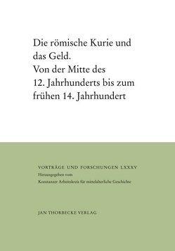 Die römische Kurie und das Geld von Maleczek,  Werner