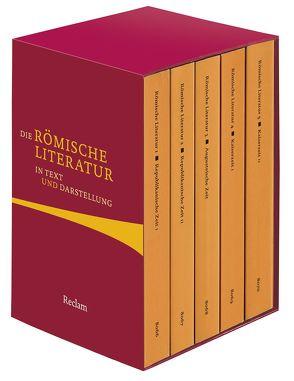 Die römische Literatur in Text und Darstellung von von Albrecht,  Michael
