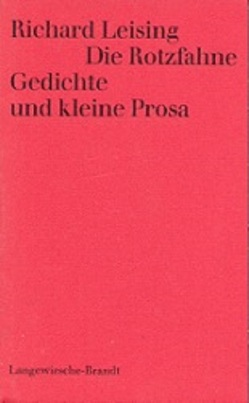 Die Rotzfahne von Leising,  Richard, Wachinger,  Kristof