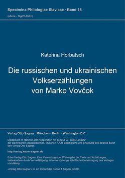 Die russischen und ukrainischen Volkserzählungen von Marko Vovčok von Horbatsch,  Katerina